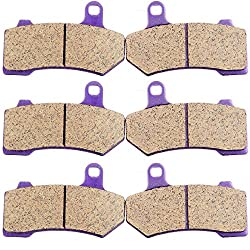 Carbon Fiber Brake Pads ECCPP for Harley Davidson Review