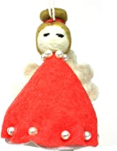 Silk Road Bazaar SROR84A-597628 Handmade & Fair Trade Felt Magic Fairy Ornament - Red