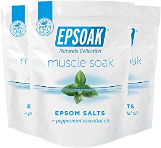 Epsoak Everyday Muscle Soak 6 lbs. (Qty 3 x 2 lb. bags) Epsom Salt