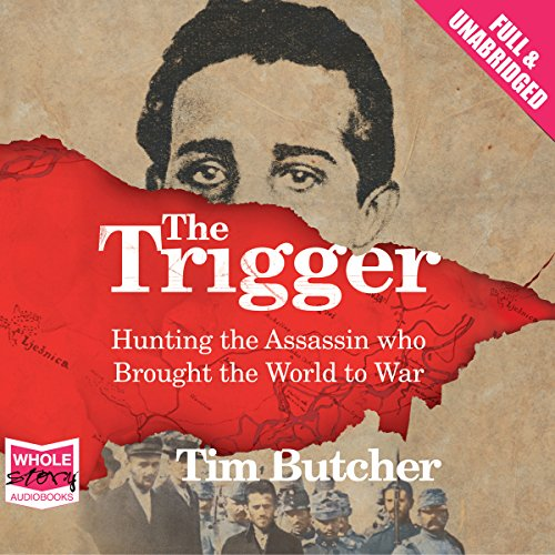 The Trigger audiobook cover art