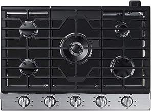 فاير فلاي هوم موقد علوي واقي لغاز الطبخ، تصميم مخصص نحيف للغاية قابل لإعادة الاستخدام مقاوم للانسكاب بطانة واقية - WCG97US0HS