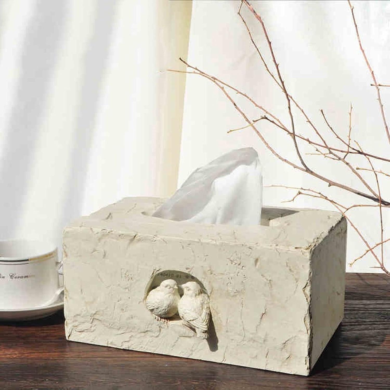 apresurado a ver Zfggd Caja de de de pauelos de Resina Linda Pastoral Fashion de 22.3 × 14 × 10cm (Color    1)  servicio honesto
