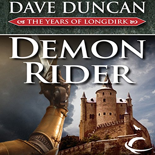 Demon Rider audiobook cover art