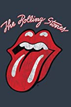 The Rolling Stones Script Tongue Logo Swea Notebook: Journal, Lined Notebook, 120 Blank Pages, Journal, 6x9 Inches, Matte ...