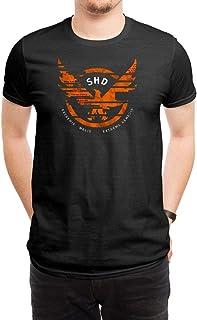 Tom Clancys The Division Unite T-Shirt Manches Courtes Noir L