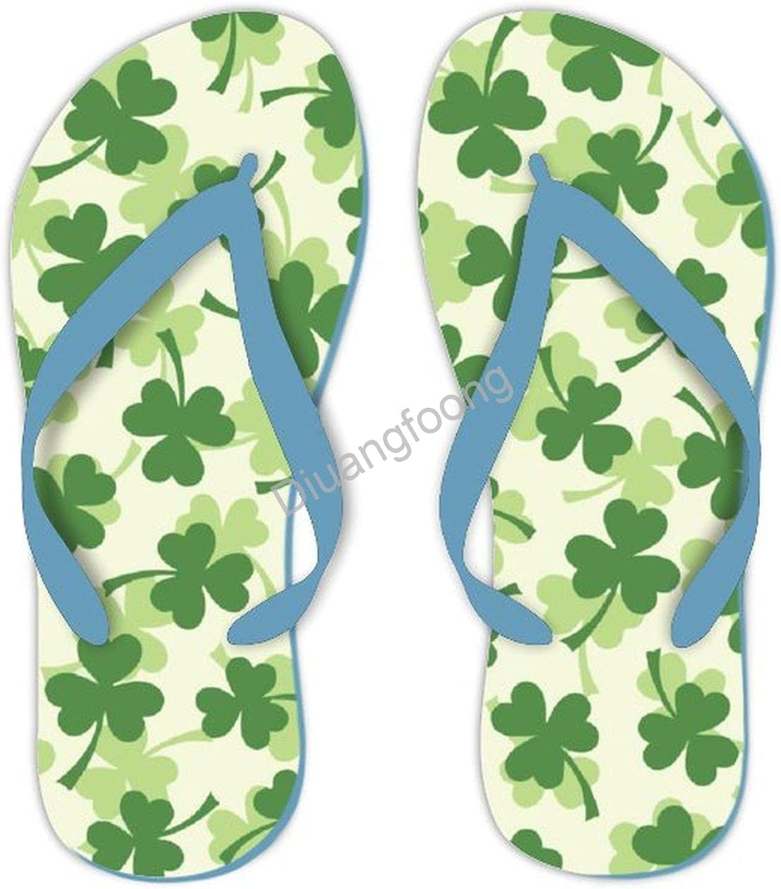 St. Patrick's Day Flip Flop Pr Sandals Max 90% OFF Comfortable Fashion Max 68% OFF Thong
