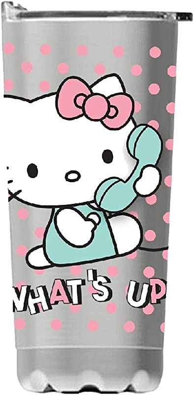 Vandor 18009 Hello Kitty 20 Oz Stainless Steel Vacuum Tumbler