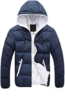 Winter Coat Casual Jacketss with Hat Cotton Down Jacket Canada Outerwear Parka Homme