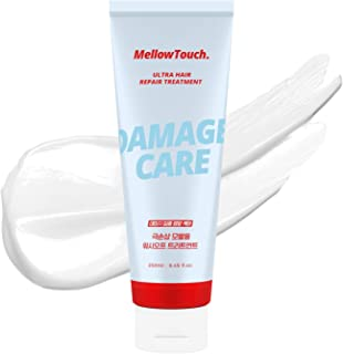 Mellow Touch Ultra Hair Repair Treatment, Deep Conditioning Hair Mask for Dry Damaged Hair, with 7 Protein Complex and Aby...