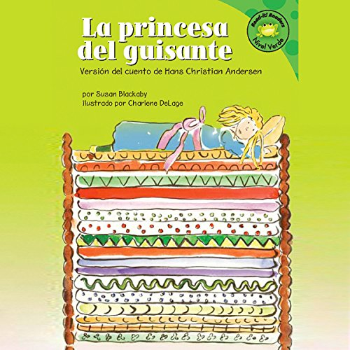 La princesa del guisante (The Princess and the Pea) audiobook cover art