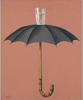 JLFDHR Rene Magritte Affiches Et Impression Toile Peinture pour Salon Bar Café Décor-50X70Cmx1 Pas De Cadre