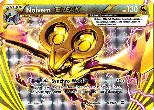 Pokemon - Noivern-Break (113/162) - XY Breakthrough