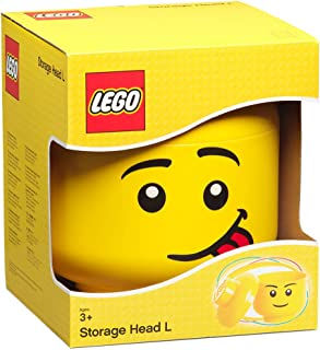 LEGO 40321726 Storage Head, Large - Silly, Yellow