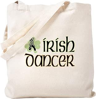 CafePress - Irish Dance - Natural Canvas Tote Bag, Cloth Shopping Bag