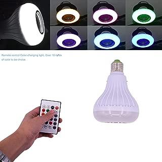 Best wireless speaker multi colour light bulb Reviews