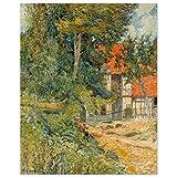 JUNIWORDS Poster, Paul Gauguin, Bauernhaus in der