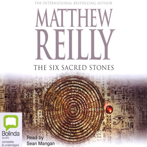 The Six Sacred Stones audiobook cover art