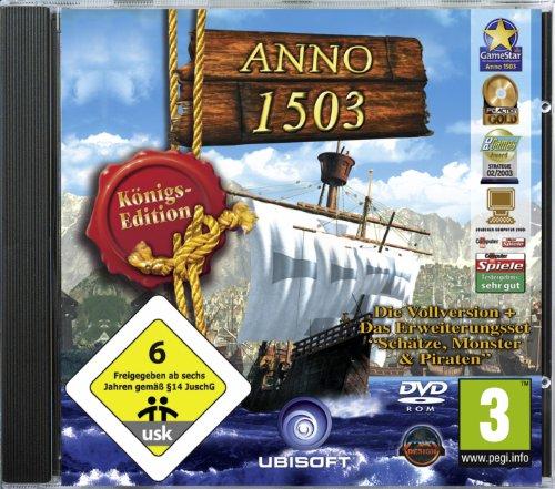 ANNO 1503 - Königsedition [Software Pyramide]