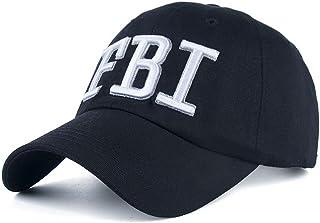 FBI Hat Women Baseball Hats Gorras Trucker Cap Embroidered FBI for Men Navy Blue