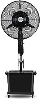 Móvil Ventilador de la fábrica Soplador Ventilador industrial Ventilador Ventilador eléctrico grande y silencioso Tienda Comercial Residencial, Agitar a izquierda y derecha Vibración arriba y abajo
