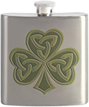 CafePress - Celtic Trinity - Stainless Steel Flask, 6oz Drinking Flask
