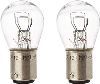 HELLA 8GD 002 078-123 Lámpara - P21/5W - Standard - 12V/5W - BAY15d - Embalaje Blister - Cant.: 2