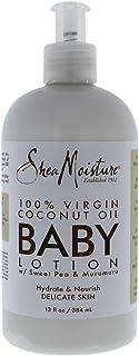 Shea Moisture Virgin Coconut Oil Baby Lotion, 13 Ounce
