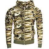 Kayhan Hombre Jacke New York, Camouflage/Brown (XL)