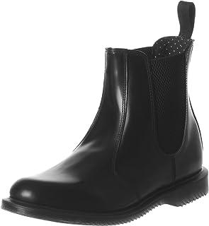 Dr. Martens Women's Flora Leather Chelsea Boot