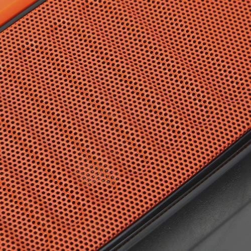 Eosnow Altavoz para Exteriores, Altavoz Bluetooth de Fuerte compatibilidad para tabletas para teléfonos móviles para computadoras