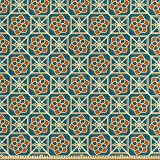 ABAKUHAUS Arabisch Satin Stoff als Meterware, Alte