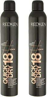 Redken Quick Dry 18 Instant Finishing Spray 2 × 400 ml