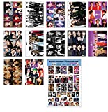 IDOLPARK K-POP Group 2019 New 12 Posters + 1 Sticker Set (All A3 Size) (EXO)