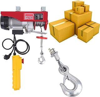 comprar comparacion Paneltech Cabrestante Eléctrico 200kg / 250kg / 600kg / 800kg / 1000kg Polipasto eléctrico Electrico Winche con control re...