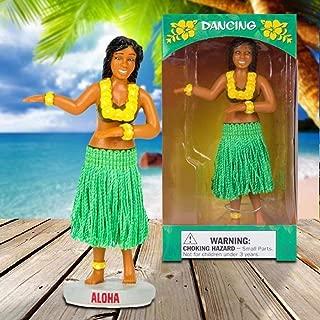 Dashboard Hula Girl with Green Skirt