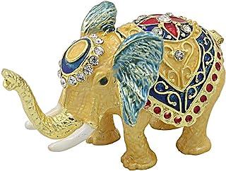 MICG Feng-Shui-Elefanten-Schmuckkästchen, aufklappbar, für