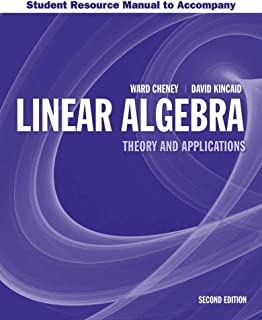 Student Resource Manual To Accompany Linear Algebra: Theory And Application