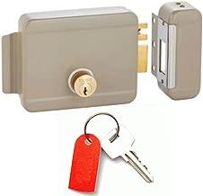 Gate Locks : Electric Deadbolt & Deadlatch Locking System : Right Hand Inward Position : Yale Lock Keyway : by TOLEDO