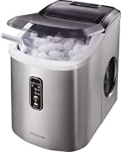 Insignia- 26-Lb. Portable Ice Maker Stainless Steel - New
