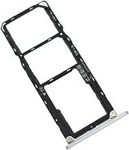 Silver ARE-AL00 microSD+Dual Sim Card Tray Replacement for Honor 8X Max Enjoy Max ARE-L22HN ARE-AL10