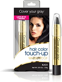 Cover Your Gray Waterproof Chubby Pencil, Black, 0.1 Ounce