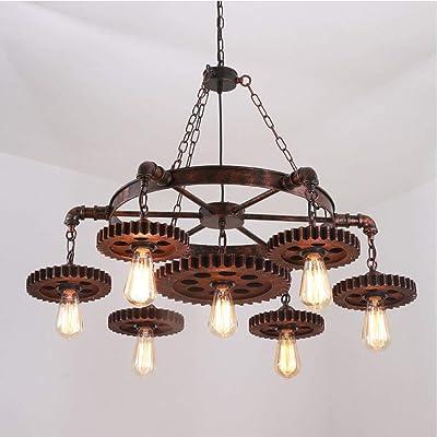 SCSpecial - Lámpara de techo con 4 ganchos de acero ...