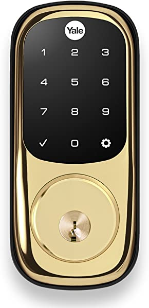 Yale YRD226ZW2605 Real Living Assure Lock Deadbolt With Touchscreen Keypad And Z Wave
