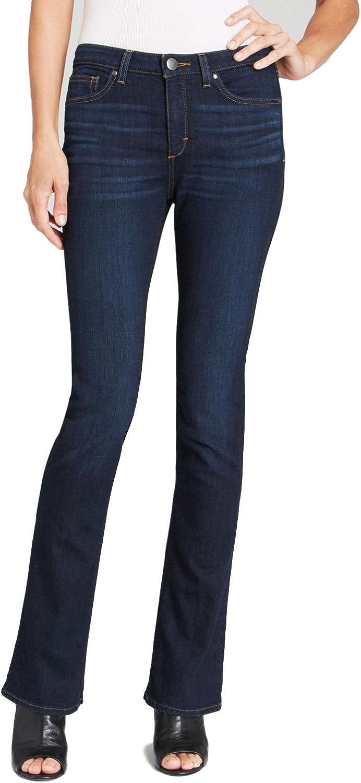 SPANX Slim X Slim Boot Cut Jeans Rich Indigo 31