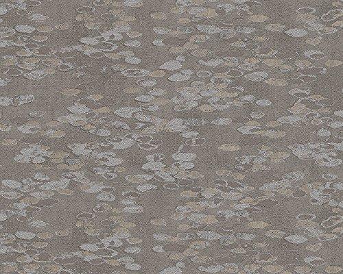 A.S. Création Vliesbehang Soraya behang in etnische look 10,05 m x 0,53 m bruin metallic Made in Germany 305843 30584-3