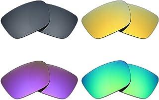 9ea456a11a Mryok 4 pares de lentes polarizadas de repuesto para gafas de sol Spy Optic  Helm –