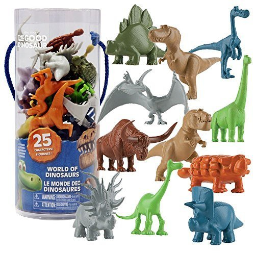 Arlo & Spot Disney Good Dinosaur - Dinosaurier 25 teiliges Figuren Set