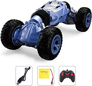 RC Car, 2.4 GHZ Remote Control Rock Crawler, 4WD Electric Racing Car Off-Road Vehicles Rock Crawler Double Sided Flip Car, Kids Toys Rechargeable Buggy Hobby Car For Boys & Girls