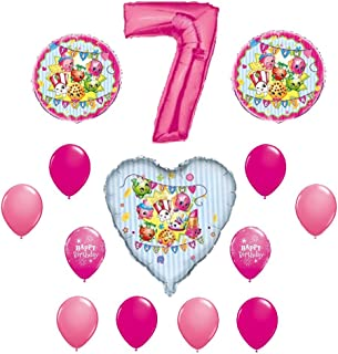 SHOPKINS 7th Seventh BIRTHDAY PARTY Balloons Decorations Supplies