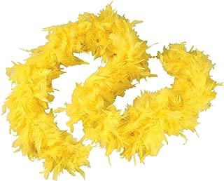 Yellow 6 Foot 60 Gram Feather Boa